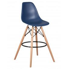 Барный стул Eames LMZL-PP623G  Темно - синий