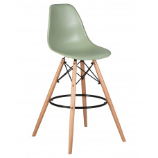 Барный стул Eames LMZL-PP623G  Мятный