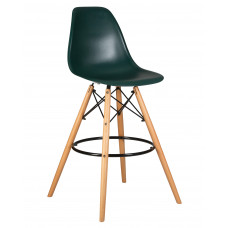 Барный стул Eames LMZL-PP623G  Темно - зеленый
