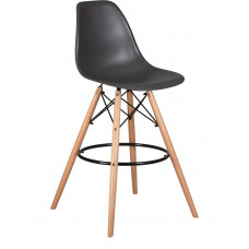 Барный стул Eames LMZL-PP623G  Темно - серый