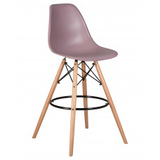 Барный стул Eames LMZL-PP623G  Сиреневый