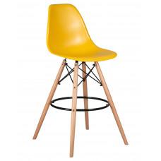 Барный стул Eames LMZL-PP623G  Горчичный