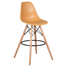Барный стул Eames LMZL-PP623G  Персиковый