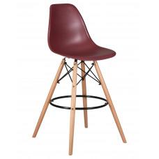 Барный стул Eames LMZL-PP623G  Сливовый