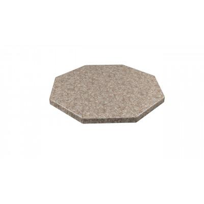 Столешница из искусственного камня  DUOLIT  (восьмигранник) 100*100