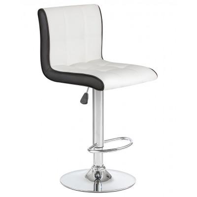 Барный стул Олимп Белый с Черным