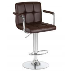 Барный стул Крюгер АРМ Коричневый WX-2318C