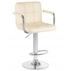 Барный стул Крюгер АРМ Бежевый WX-2318C