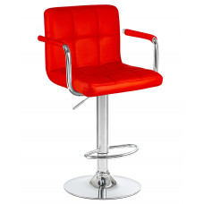 Барный стул Крюгер АРМ Красный WX-2318C