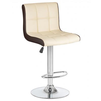 Барный стул Олимп Кремово - Коричневый  LM-5006