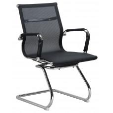 Кресло для посетителей LMR-102N Черная ткань