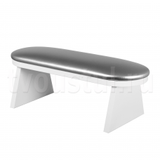 Маникюрная подставка для рук (серебро)