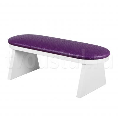 Маникюрная подставка для рук (капитон фиолетовый)