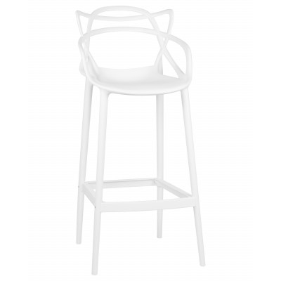 Барный стул LMZL-PP601С белый