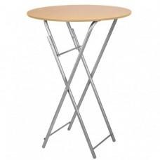 Складной барный стол d800 СРП-С-111