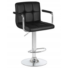 Барный стул Крюгер АРМ Черный WX-2318C
