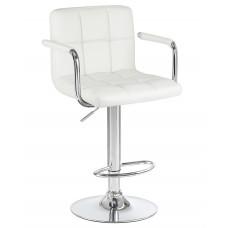 Барный стул Крюгер АРМ Белый WX-2318C