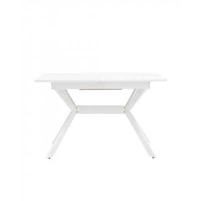 Стол обеденный Орландо раскладной 120-160*80 белый