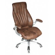 Кресло для руководителя LMR-112B Коричневое