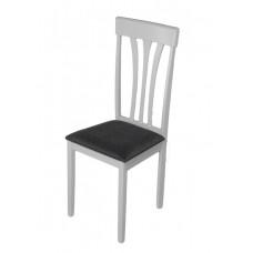 Стул обеденный Hv Franklin (Белый/Ткань NV-10WP серый)