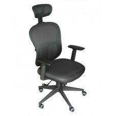 Кресло для руководителя LMR-113M Черное