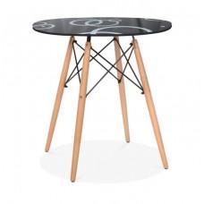 Стол обеденный GH-T 10 B (Черный)