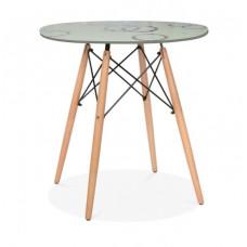 Стол обеденный В-06-01 (Кремовый)