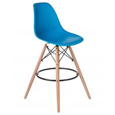 Барный стул Eames LMZL-PP623G  Голубой