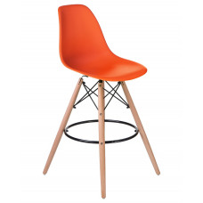 Барный стул Eames LMZL-PP623G Оранжевый