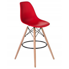 Барный стул Eames LMZL-PP623G Красный