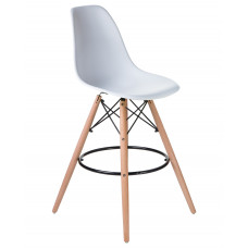 Барный стул Eames LMZL-PP623G Белый