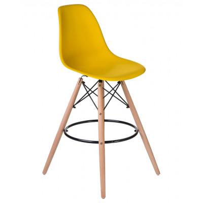 Барный стул Eames LMZL-PP623G Желтый