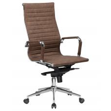 Кресло руководителя LMR-101F коричневый лофт