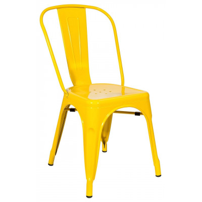 Стул TOLIX желтый глянцевый