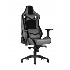 Кресло спортивное TopChairs Racer Premium серое