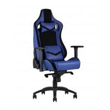 Кресло спортивное TopChairs Racer Premium синее